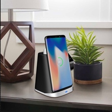 Wireless Fast Charging Stand Qi-Certified Charger 7.5W for iPhone Xs Max R 8 Plus 10W Samsung S9 Note 9
