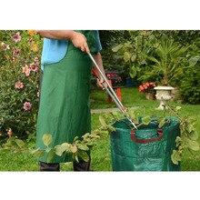 272L Garden Waste Bag Reuseable Leaf Grass Lawn Pool Gardening Bags MU