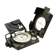 Good deal newest Professional compass Military Army Geology Compass Sighting Luminous Compass for Outdoor Hiking Camping