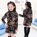 Girls Autumn Sweater  Leisure Printing Clothes kids  girl plus velvet Sweater  6&7&8&9&10&11 years girl clothes teenage girl