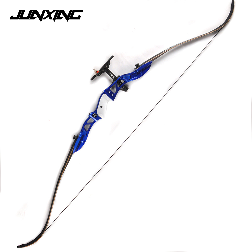 Black/Red/Blue American Hunting Bow 20-36Lbs Recurve Bow Archery with Sight and Arrow Rest for Archery Hunting Shooting red riser detachable combination recurve bow folding portable for hunting shooting training traditional archery sdl tzxl red
