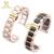 Pulsera de cerámica en correa de reloj de acero inoxidable para mujer para hombre relojes de pulsera de banda 14 16 18 20 22mm whiteButterfly hebilla