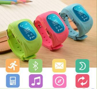 New kids gps posição wi-fi relógio de pulso q50 crianças smart watch bebê seguro anti-perdida smartwatch
