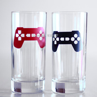48 Pcs Set Game Controller Art Stickers For Video Game Party Decorations Removable Cup Lables Invitation