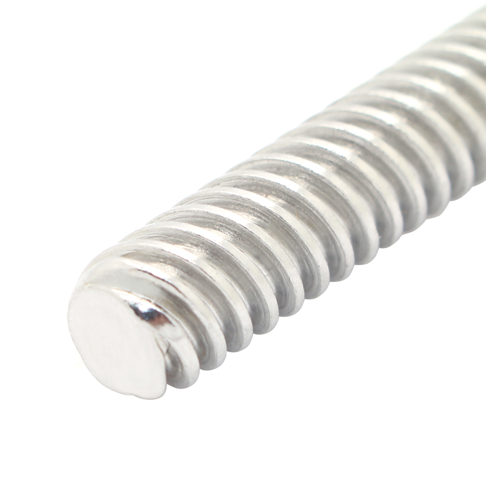 T8 Lead Screw Diameter 8mm Pitch 2mm With Copper Nut 3D Printer Part Rod T Shape