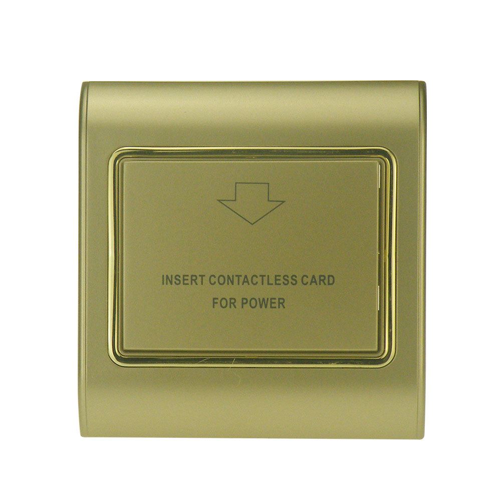 Access Control Accessories Silver Color Panel Hotel Card Switch Insert Promixity Keycard Rfid Card To Take Power 125khz T5577 T57 Type Chip Induction Sales Of Quality Assurance