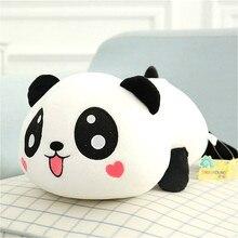 Кавайная панда, плюшевые куклы, детские игрушки, животные, панда, подушка, мягкая подушка, подушка для детей, подарки для малышей, 20 см