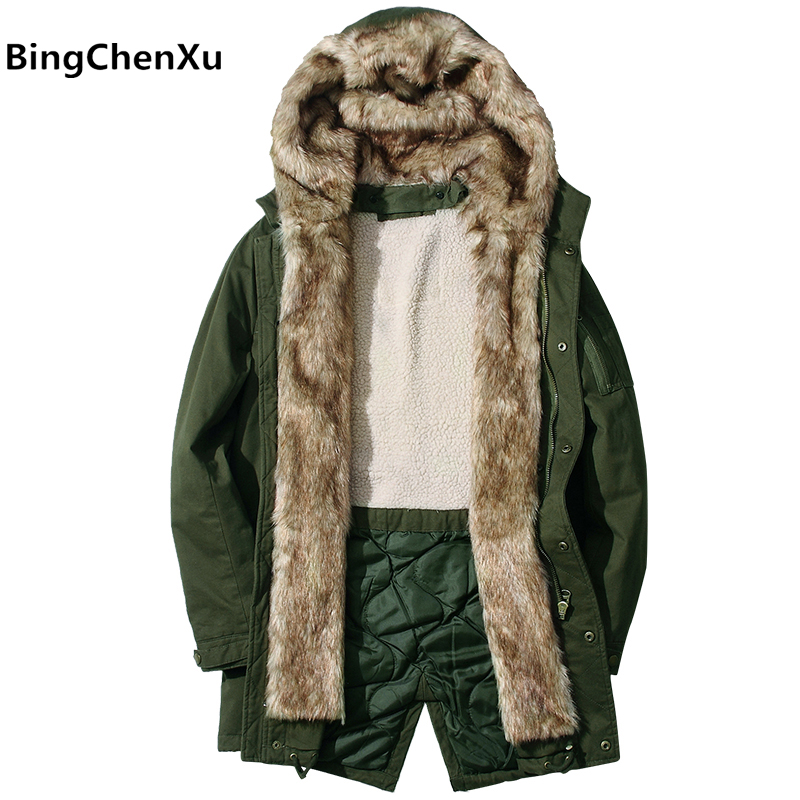 thick warm coat padded hooded brand clothing jackets men down jacket top quality fur collar new design winter coat Male 430 ichi ichi ic314ewowi30