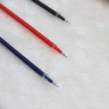 0.5mm 10 Pcs Neutre Encre Gel Recharge Pour Stylo Neutre Stylo Bonne Qualité Recharge de Balle 3 Couleurs Pour Bureau Et l'école(China (Mainland))