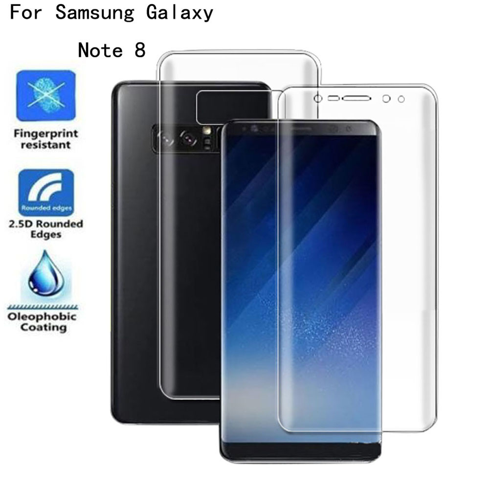 Del Front+Back Explosion proof Screen Protector Full Film