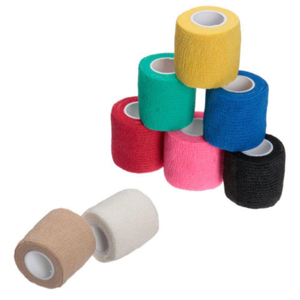 Auto-Adesivo Bandagem Elástica Fita de Gaze de Primeiros Socorros Médicos Tratamento de Saúde Pé Patch Fita