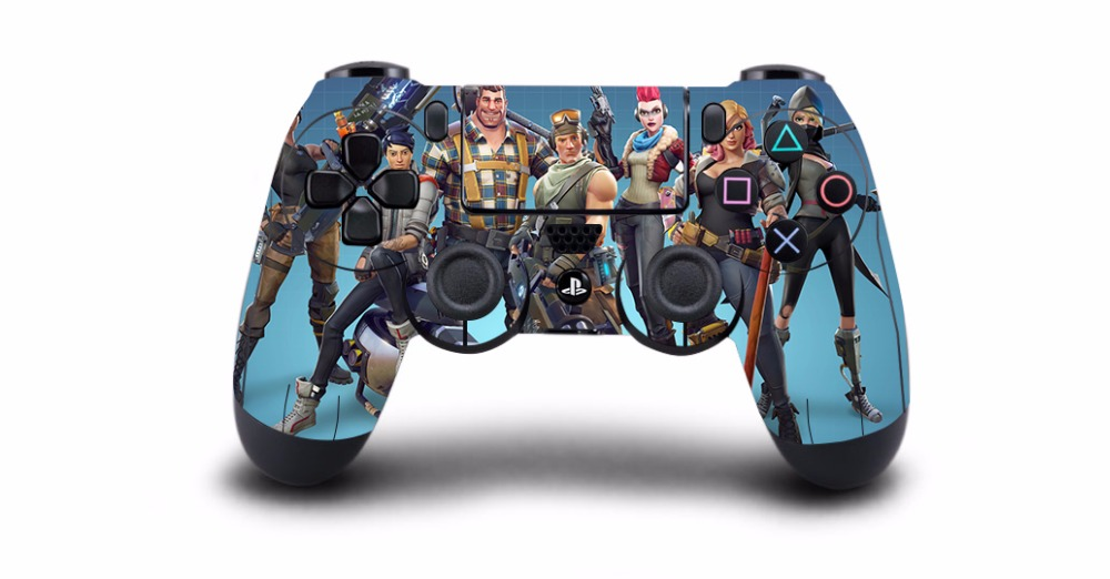 1pcs Game Fortnite PS4 Skin Sticker Decal Vinyl For Sony PS4 PlayStation 4 for Dualshock 4 Game Controller PS4 Skins Stickers ...