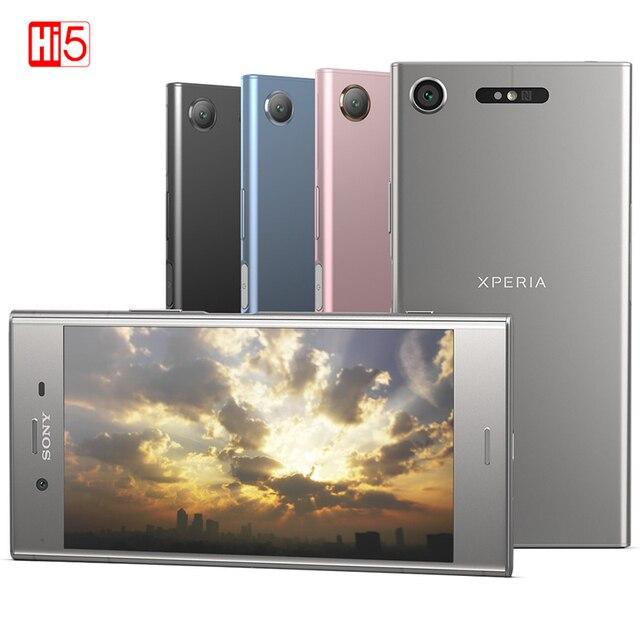 סמארטפון מקורי Sony X peria XZ1 G8342/G8341 64G ROM 4G RAM 19MP אוקטה Core NFC אנדרואיד 7.1 טלפון נייד 2700mAh אנדרואיד