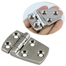 Bisagra de tope para puerta de acero inoxidable, bisagra de tope para puertas, cajones, cajones, barcos, 38x57MM, 316