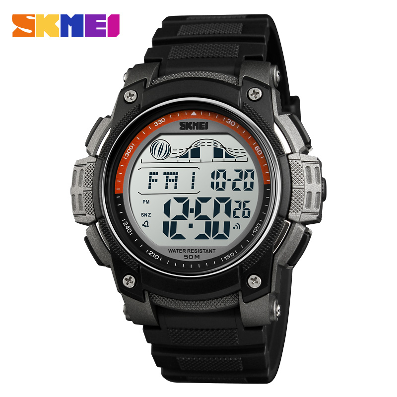 <font><b>SKMEI</b></font> Sports Watches Waterproof Digital Men's Watches LED Casual Electronics Student Wristwatches Clock Relogio Masculino image