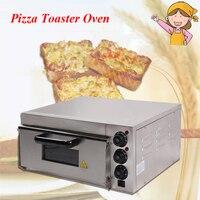 Электрический чайник пиццы Нержавеющаясталь коммерческий термометр один для пиццы/мини печь для выпечки/хлеб/торт тостер EP 1ST