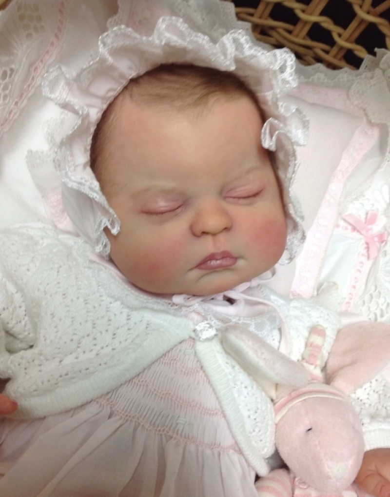 Newborn Alive Soft Silicon Vinyl Krista By Linda Murray Reborn Doll Kits for DIY 20 Baby ...