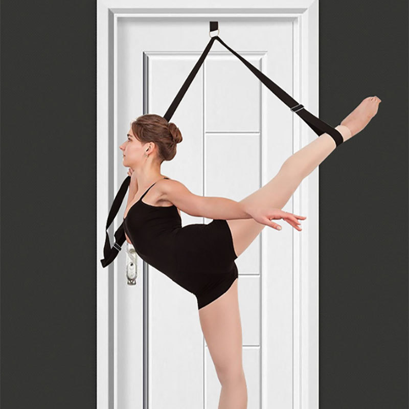 Adjust Resistance Band Hanging On The Door Easy Install Flexibility Training Strap Yoga Ballet Dance Leg Stretch Traning Belt