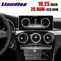 Liandlee автомобильный мультимедийный плеер NAVI 2 грамм CarPlay для Mercedes Benz MB GLC X253 C253 2015 ~ 2018 оригинальное автомобильное радио gps навигации