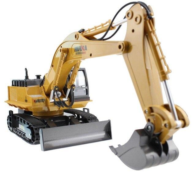 Rc экскаватор сплав 2.4 г 11CH дистанционного управления инженерной экскаватор грузовик модель электронного экскаватор тяжелая техника игрушка