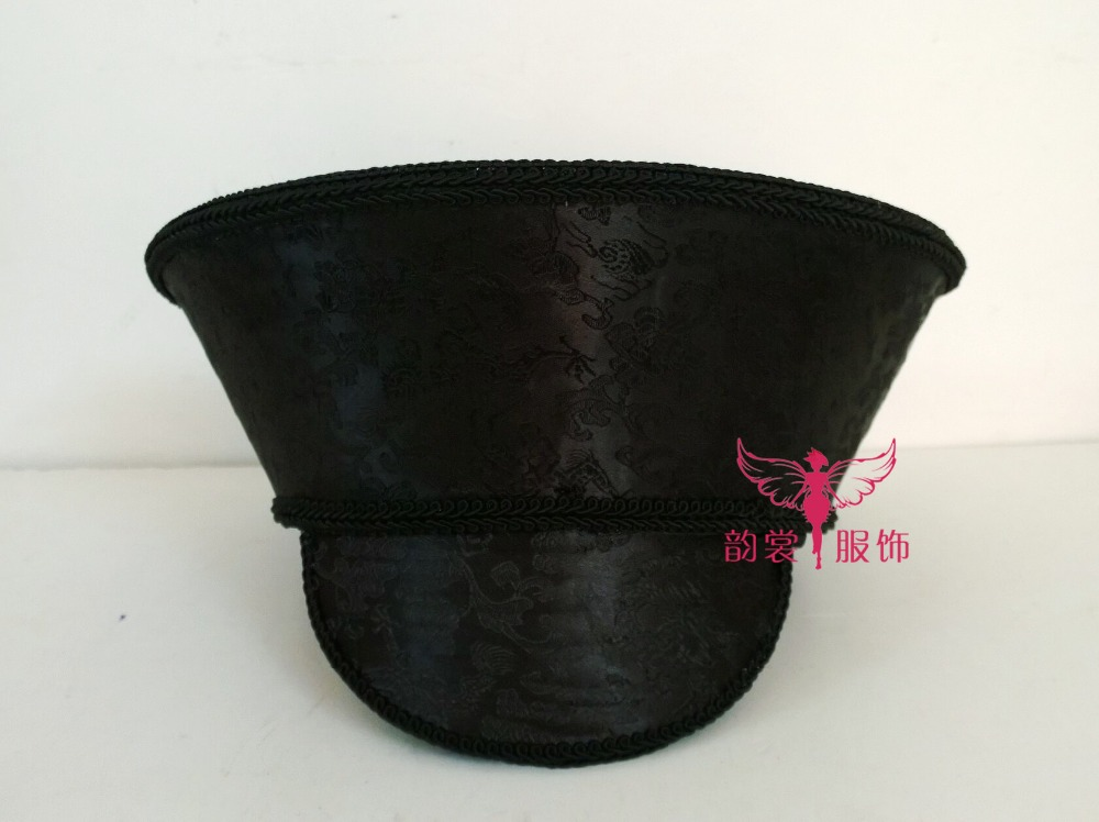 Qing Dynasty Simple Qitou Hat for TV Play Legend of ZhenHuan Same Design Women's Hat Head Piece can DIY Decorative accessories диван friendly faces of the qing dynasty rh