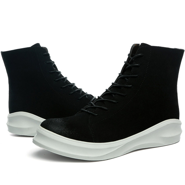 Hombres alpargatas calzado sale2016 caliente zapatos de la marca de lujo diseñador high top zapatos planos ocasionales de conducción mocasines de piel caliente para los hombres
