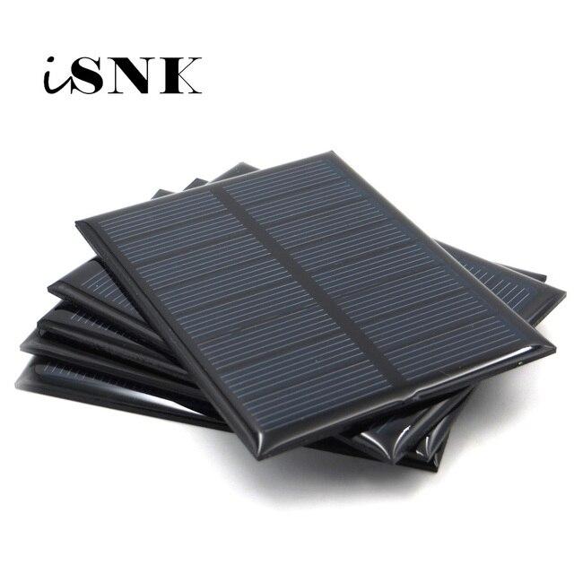 פנל סולארי 3V 3.5V 4V מיני שמש מערכת DIY עבור סוללה טלפון סלולרי מטען נייד 0.36W 0.45W 0.9W 0.24W 0.6W 0.64W שמש צעצוע