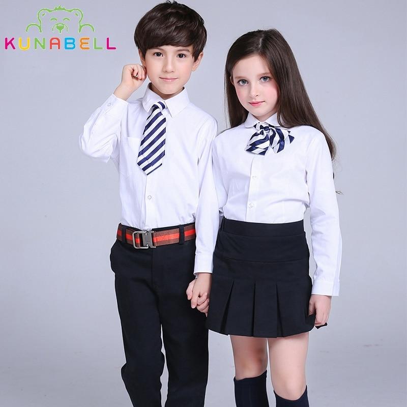 Spring Girls Skirt School Kids Cotton Pleated Umbrella Formal Skirt Fashion Children s High Waist Tutu