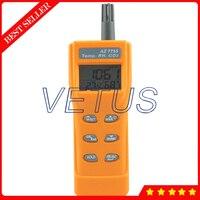 AZ 7755 co2 измерительный прибор с температурой и влажностью co2 метр