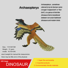 Hot toys figure Pterodactylus high Simulation model Jurassic dinosaur toys action figure Gift toys for children