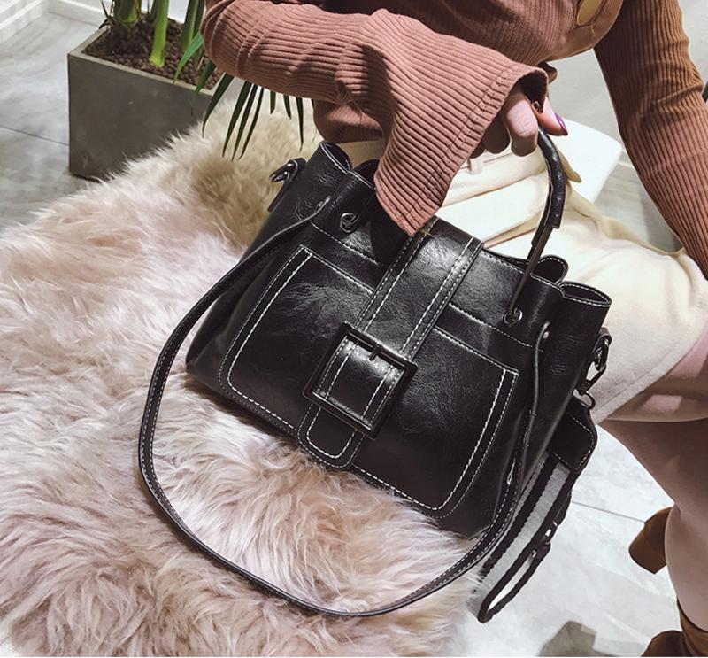 New European and American style vintage PU women handbag shoulder bag messenger bag 84