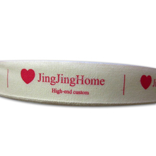 Free shipping printed cotton ribbon/clothing customizing labels/tags/garment printing tag  100 yards a lot
