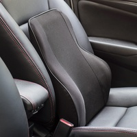Car Seat Supports Office Home Memory Foam Seat Chair Waist Lumbar Back Support Cushion