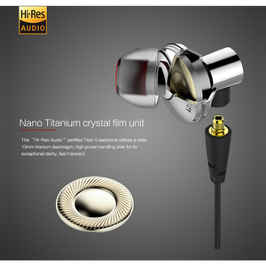 Image 2 - DUNU TITAN5 HiFi Inner ear Earphone Rich Bass Large dynamic acoustic performance interchangeable cable jack IEM TITAN 5 TITAN 5