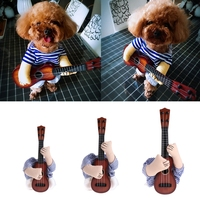 Cute Guitar Pet Dog Cat Costume Dress Up Christmas Halloween Party Cosplay Clothes Cat Costumes Pet
