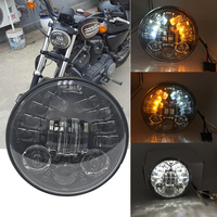 5.75 inch led headlight for Harley Davidson Dyna Softail Sportster Wide Glide Iron 883 Street Bob Low Rider Motorcycle Headlamp