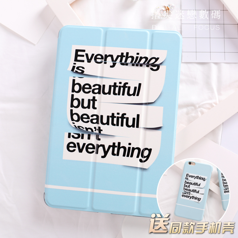 все цены на  Sky Blue Letter Flip Cover For iPad Pro 9.7