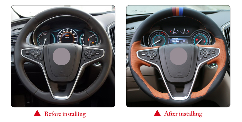 for Buick Regal steering wheel cover