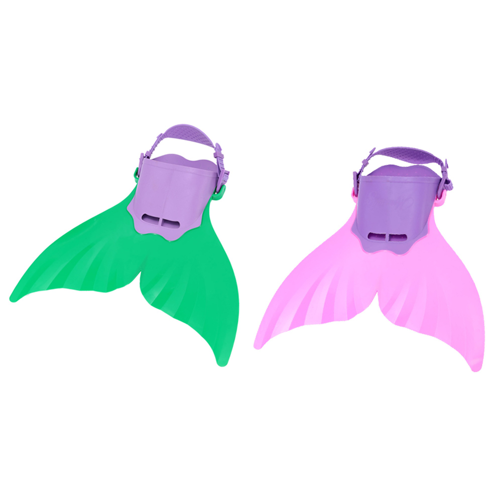 Adjustable Wave Fins Mermaid Monofin Fin Flippers Swimming