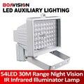 30 m 54 LED 12 V 8 W Visión Nocturna IR Iluminador Infrarrojo lámpara de Luz LED de Iluminación Auxiliar Para la Seguridad CCTV Cámara