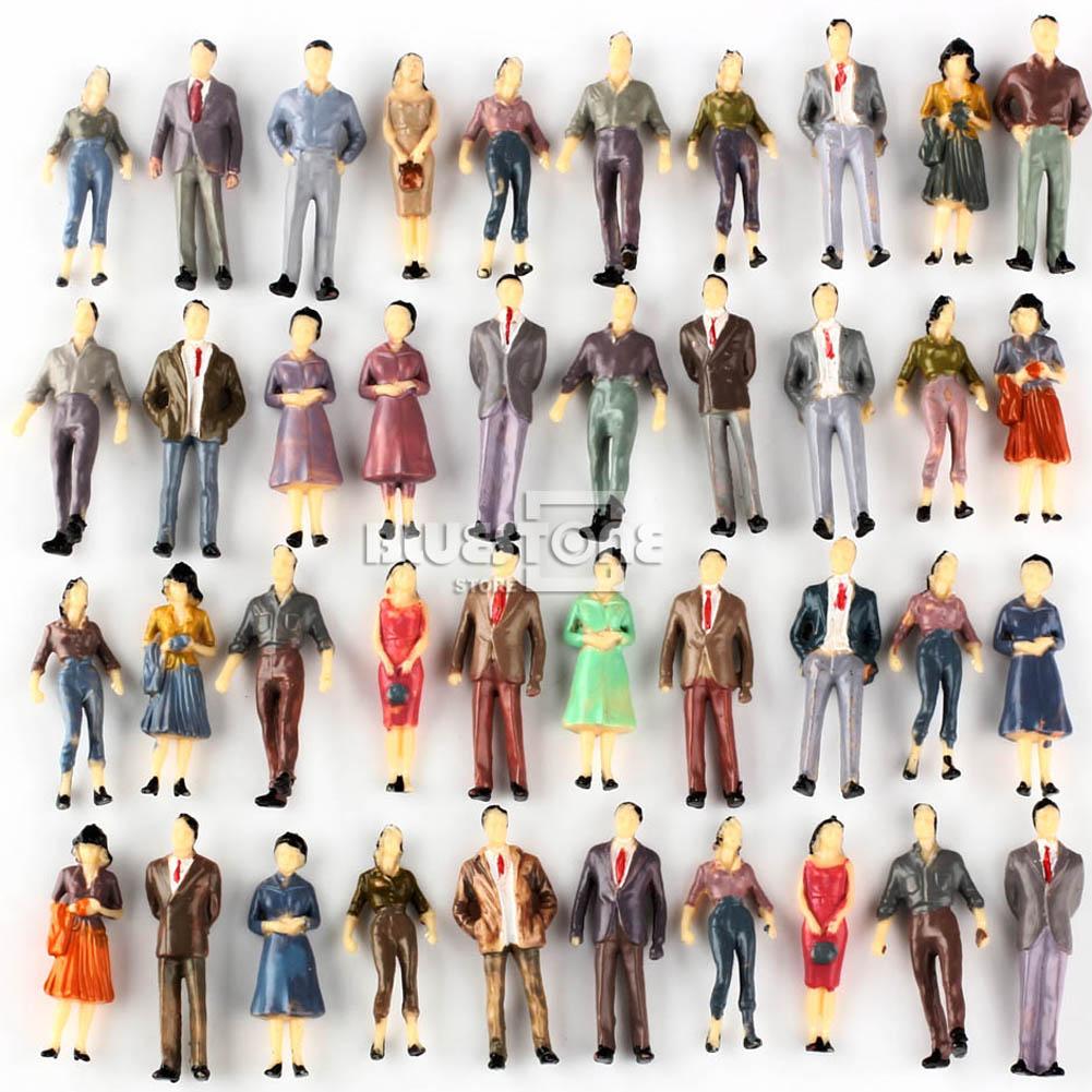 100 մոդել մարդկանց թվեր Անցորդները - Կառուցողական խաղեր