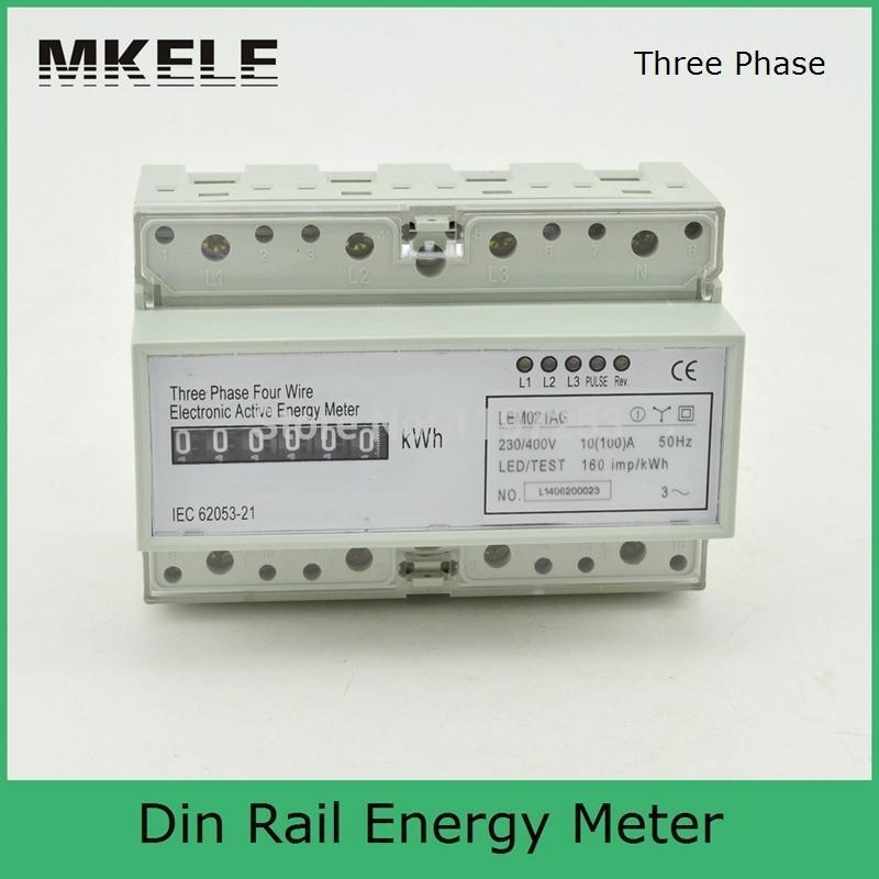 230/400V 10(100)A 3 Phase 4 Wire Connection Test Bench, Digital Energy Meter LEM021AG