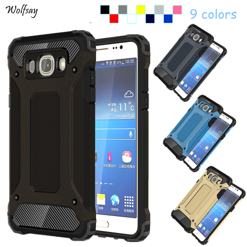 Galleria fotografica Wolfsay For Cover Case Samsung Galaxy J5 2016 J510 Phone Cover For Samsung Galaxy J5 2016 Case For Samsung J5 2016 Case