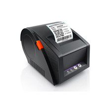 New 80mm thermal printer clothing price bar code sticker Qr self-adhesive label printer supermarket retail receipt printer wholesale label sticker receipt printer barcode qr code pos printer xp 365b support 80mm width printing print speed is very fast