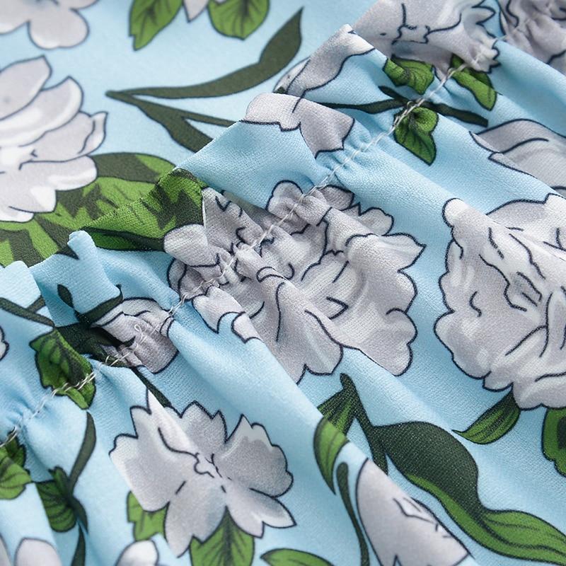 Sukienki szyfonowe sukienki dla dziewczynek 2016 Wiosna i lato - Ubrania dziecięce - Zdjęcie 4