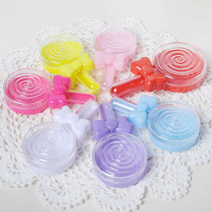 Saco de caixa de doces do presente do chocolate de plástico transparente rodada para o Aniversário Festa de Casamento Decoração do ofício DIY favor do chuveiro de bebê Wh