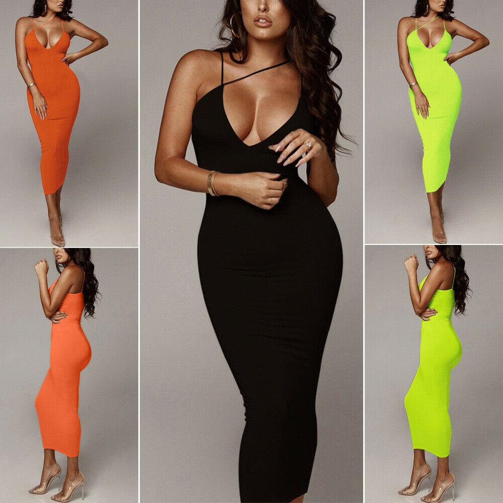 Slim fit Long Dress