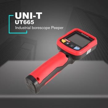 UNI-T UT665 Industrial endoscope borescope Peeper Vehicle internal maintenance inspection pipeline detector waterproof probe