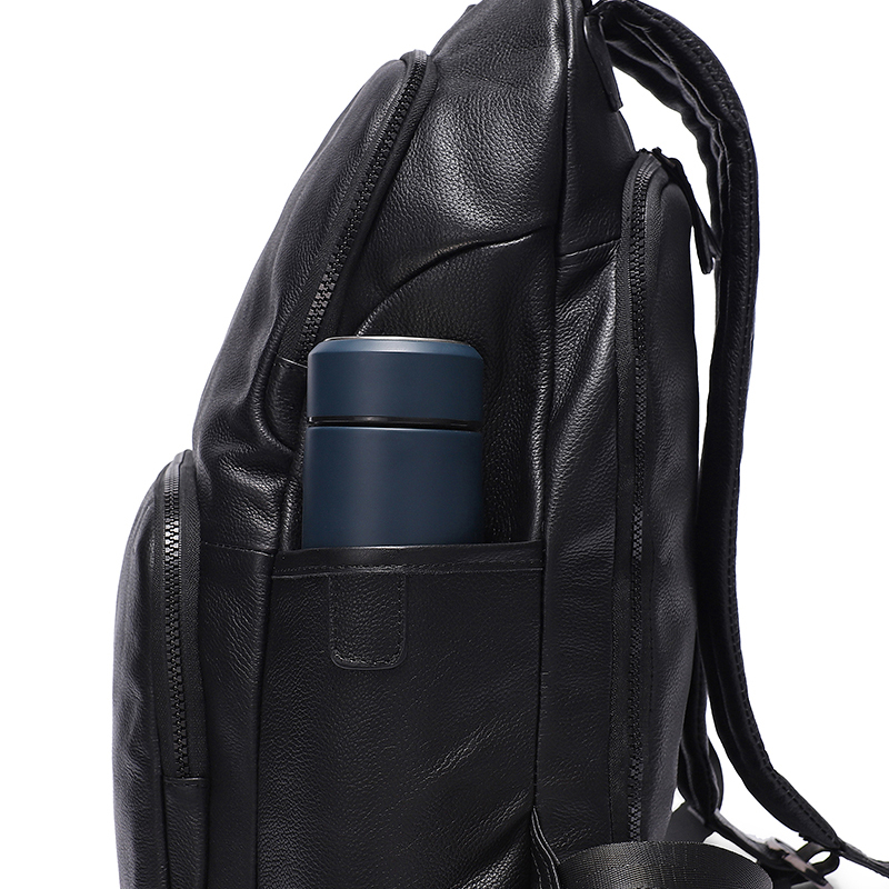 fashion men backpack leather men's travel bag man backpacks for teenager laptop backpack men travel computer bag mochila    7237