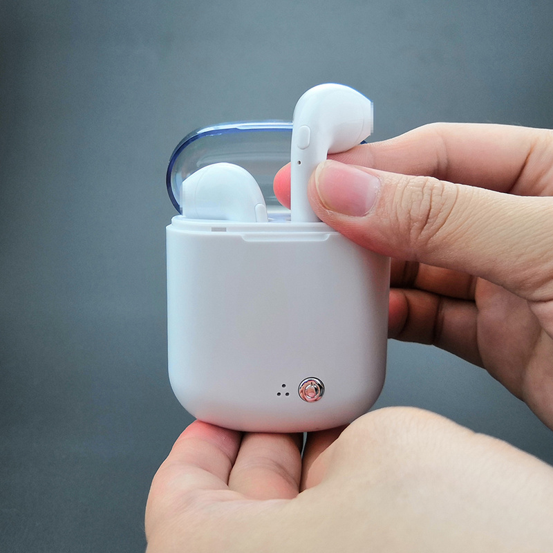Neueste i7s plus TWS Bluetooth Kopfhörer Kopfhörer Mini Headset Mic Drahtlose Ohrhörer mit Lade Box für iPhone Android Huawei